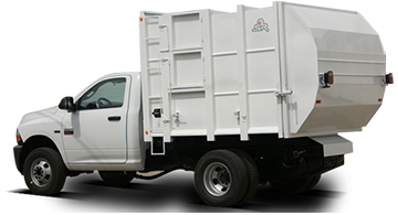 garbage collector, garbage truck lsr-2000