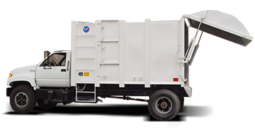 garbage collector, garbage truck lsr-6000
