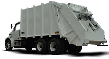 garbage collector, garbage truck Tsr-10000