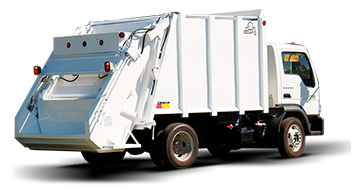 garbage collector, garbage truck Tsr-2000-3000