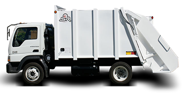 garbage collector, garbage truck Tsr-4000
