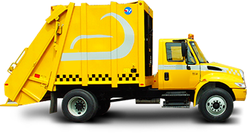 garbage collector, garbage truck Tsr-5000
